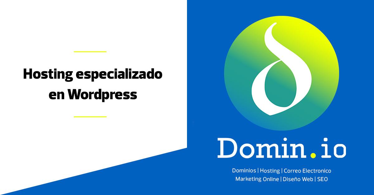 Hosting especializado en Wordpress